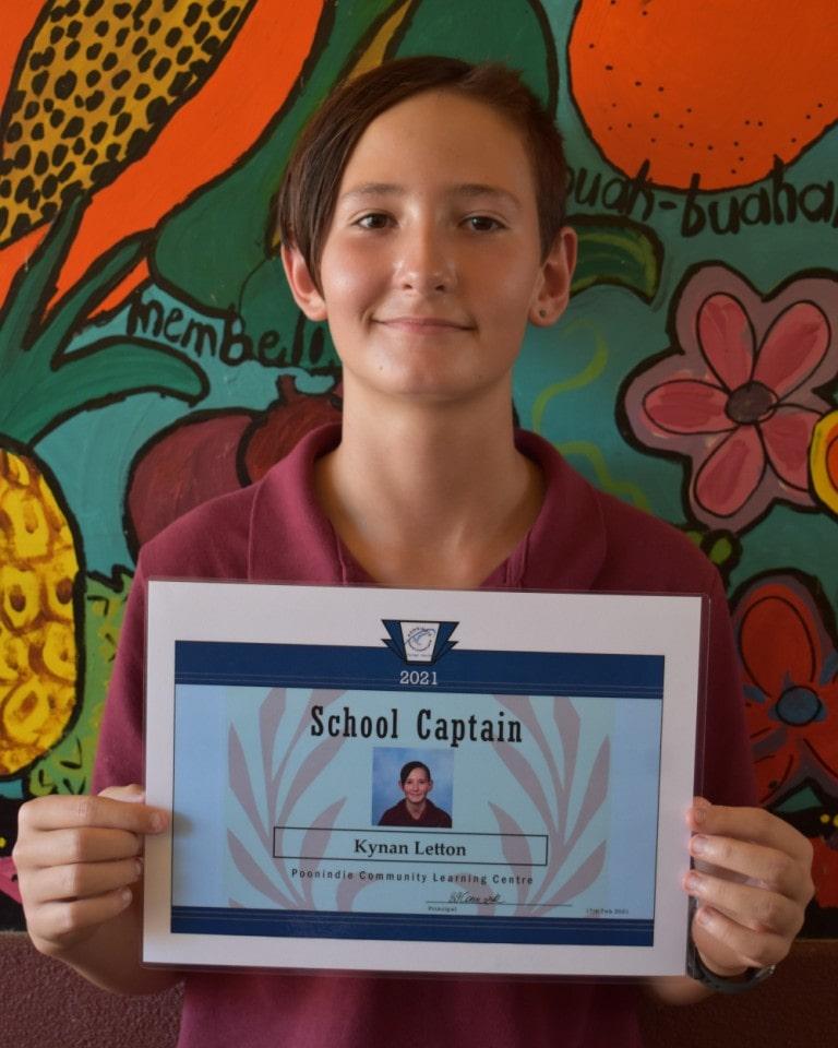 Year 6 School Captain KL